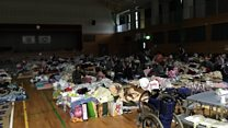 Watch: Breakfast at an evacuation centre in quake-hit Japan