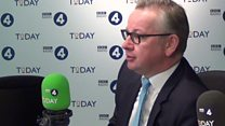 Gove sets out trade vision for UK outside EU