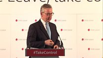 Michael Gove: UK would be part of European free trade area
