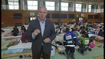 【熊本地震】いつ自宅に戻れるのか――避難所生活5日超え