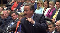 Cameron makes extremism claims about Khan