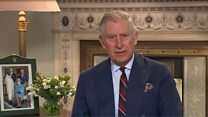 Prince Charles pays Shakespearean tribute to the Queen