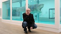 Has Damien Hirst's art been leaking formaldehyde gas?