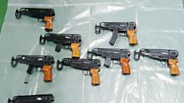 Two guilty of smuggling guns into UK