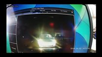 Video footage of wrong-way driver released