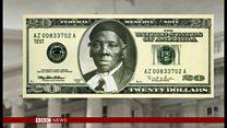 自由獲得の元奴隷女性 米20ドル紙幣に