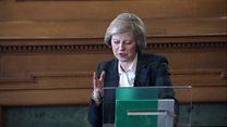 Theresa May on EU and immigration