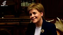 Nicola Sturgeon's first date with Gary Tank Commander