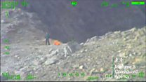 Walker rescued from Skye mountain