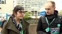Junior doctors 'really sad' at strike action