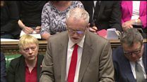 How has Jeremy Corbyn's style changed PMQs?