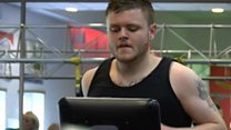 Man loses four stone in city health drive