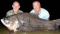 Fisherman's friends use his ashes as bait to catch huge fish
