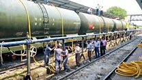 From trains to homes: Getting water to parched India