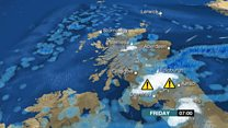 Snow set to sweep south across Scotland