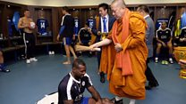 Did Thai monk's blessing seal victory?