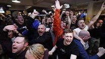 「イングランドのチャンピオン!」 初優勝に歓喜のレスター・サポーター