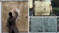 Essex 'van' Gogh turns dirt into art