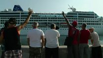 On board the first US cruise ship to Havana