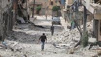 Syria conflict: Aleppo under attack