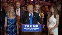 トランプ氏、クリントン氏は「だめな大統領になる」