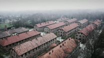 Holocaust Memorial Day: Auschwitz from above