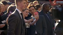 Hundreds gather for a red carpet screening of Peaky Blinders