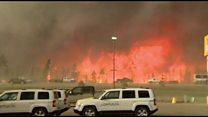 Canada fire emergency declared