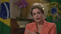 Brazil's President says she will fight on