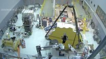 Nasa scientists flip James Webb's mirror