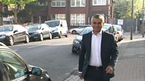 Khan heads to first day in office