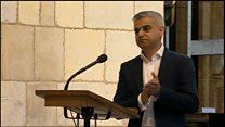 'My name is Sadiq Khan and I'm the mayor'