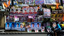 Voting under way in Philippines' 'fiercely contested' election