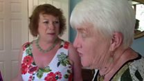 Pen pals meet for first time in 50 years