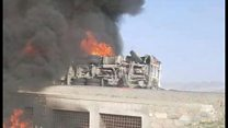 アフガン幹線道路でバス衝突 73人が死亡