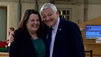 Father and daughter MSPs begin work