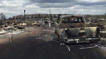 カナダ山火事 立ち入り許可された被災地の様子