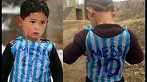 メッシ選手からジャージ送られたアフガン少年に誘拐脅迫