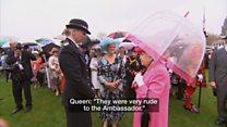 英女王、中国使節は「とても失礼だった」