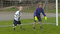 Boy amputee to meet footballing heroes