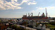 Huge oil production ship set for Scotland