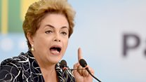 Brazil's Senate votes for Roussef impeachment