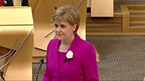 Party leaders sworn in at Holyrood
