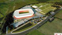 Dons announce Kingsford stadium plan