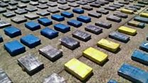 Colombia's largest ever drug seizure