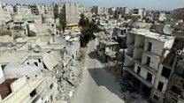 シリア内戦 がれきの町アレッポで暮らし続ける