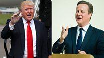 トランプ氏と英首相やロンドン市長、批判の応酬