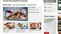 BBC recipes get chopped