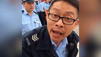 Watch: Hong Kong pro-democracy activists arrested as key China leader visits