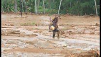 スリランカで土砂崩れ 30万人以上が家失い